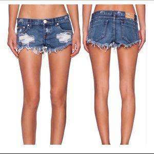 One Teaspoon trash whores Jean shorts
